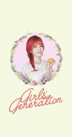 Girls' Generation SNSD Sunny Lockscreen Phone Wallpaper