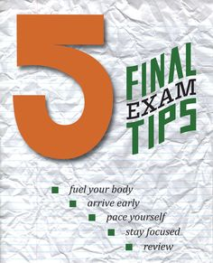 Tips to help you finish the semester strong.