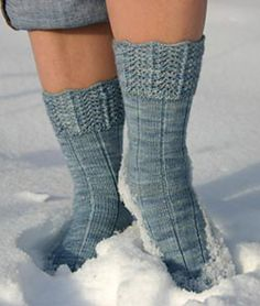 Ravelry: Snow Queen Sock pattern by Emmy Coplea