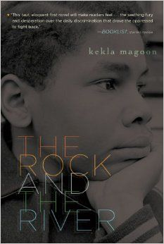 The Rock and the River by Kekla Magoon. Two brothers experience the turbulence of the Civil Rights Movement and the Black Panthers in this work of fiction. CCSS.ELA-LITERACY.RL.7.9 Compare and contrast a fictional portrayal of a time, place, or character and a historical account of the same period as a means of understanding how authors of fiction use or alter history.