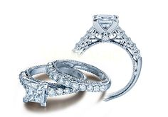Verragio Engagement Rings: The Venetian Collection