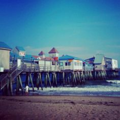 Old Orchard Beach, Maine :)