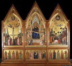 'The Vatican: All The Paintings' Book Opens Up Religious Art Of The Vatican Museum   Giotto: Pinacoteca, Stefaneschi Polyptych
