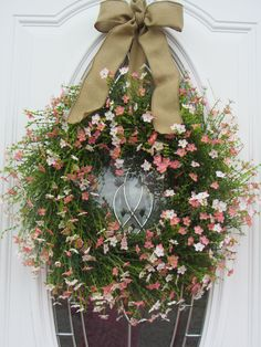 Summer Wreath Door Country Boxwood