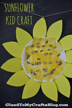 Sunflower {Kid Craft}