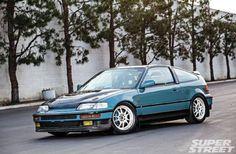 1991 honda CR X JDM EF8 SiR front bumper 08