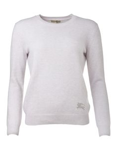 BURBERRY  Pullover Burberry, Pullover, Pale Pink, Luxury, Sweaters, Fashion, Cotton, Clothes, Moda