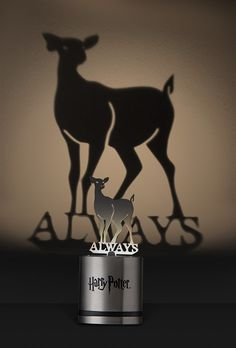 With a small LED, this lamp casts the shadow of Snape's doe Patronus, reminding us of what the character was ultimately all about.