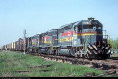 RailPictures.Net Photo: LN 8067 Louisville & Nashville EMD SD40-2 at Thorton, Illinois by Dan Tracy