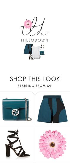 """TLD"" by roguecop ❤ liked on Polyvore featuring Gucci, Vivienne Westwood Anglomania, Gianvito Rossi, NLY Accessories and Z Supply"