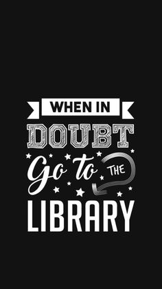 When in doubt go to the library Harry Potter Wallpaper, Entertaining, Logos, Wallpapers, Logo, Wallpaper, Funny, Backgrounds, Wall Decal