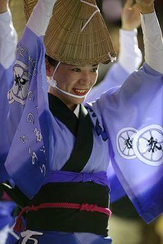 Awa Odori - Kimono inspired fashion