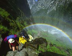 Mist Trail, Yosemite National Park, California - Kerrick James/Alamy