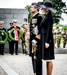 On September 5, 2017, on the occasion of Danish Flag Day 2017, Crown Prince Frederik and Crown Princess Mary of Denmark attended the traditional wreath-laying ceremony for Danish Soldiers who are abroad at Copenhagen Citadel. Afterwards, the Crown Couple attended a memorial service at the Holmen church in Copenhagen.