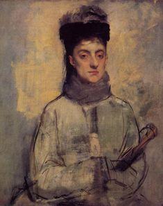 Woman with an Umbrella - Edgar Degas