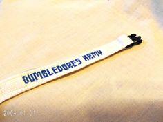 Harry Potter Dumbledore's Army Bracelet by SnarkyLittleStitcher, $8.50