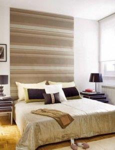 papel pintado cabecero cama