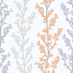 Branches Orange wallpaper by Galerie