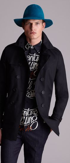 Burberry Prorsum Collection | Men's Fashion | Menswear | Men's Casual Outfit for Spring/Summer | Moda Masculina | Shop at designerclothingfans.com