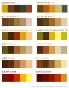 Autumn color Palates   #diamondcandles #harvestcontest2012