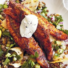 Fish fillets are anything but boring in this Persian-inspired recipe. Covered in a tasty s