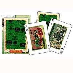 John Deere Collectible Tractor Playing Cards