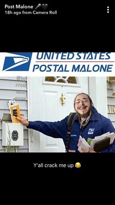 Post Malone Stupid Funny Memes, Funny Relatable Memes, Hilarious, Funny Stuff, Post Malone, Drake E, Billie Eilish, Try Not To Smile, Celebrity Memes