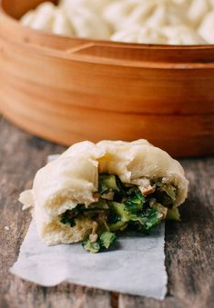 Vegetarians and vegans, these Steamed Vegetable Buns are vegan and delicious. This step-by-step steamed vegetable bun recipe will show you the way! Vegetable Dishes, Vegetable Recipes, Chinese Vegetables, Steamed Vegetables, Mixed Vegetables, Veggies, Chinese Cabbage, Chinese Food, Kitchens