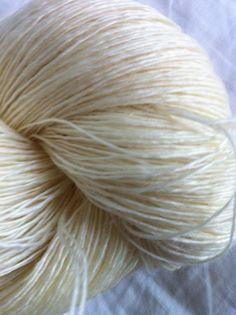 StickChick Etsy:  LACE Merino Singles Undyed Yarn, Undyed Yarn, Ecru Yarn Blank $14.50/115g 875yds