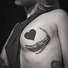 "1,103 Likes, 12 Comments - ⭕️Golden Iron Tattoo Studio⭕️ (@goldeniron_tattoos_toronto) on Instagram: ""Skeleton hand by Yi.  @postyism  #goldenirontattoostudio #teamgoldeniron #thefineartfactory"""