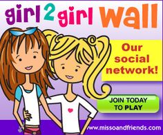 Miss O & Friends - Community for tween and teen girls to socialize and play.