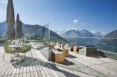 Switzerland, the 104 year old Berghotel Muottas Muragl has been completely renovated
