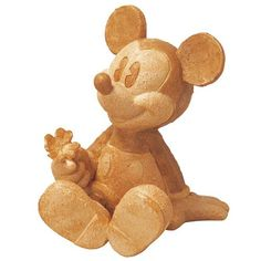 Mickey Mouse Wooden Garden Statue