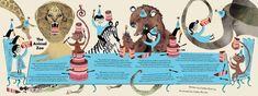 OKIDO magazine - Lesley Barnes Illustration