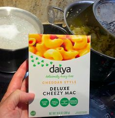 WHAT IS YOUR COMFORT FOOD?  As a Dietitian / Nutritionist I recommend a whole food, nutrient-dense diet to provide an abundance of nutrition.  But there are times in life when some comfort food is just what is called for.  This Mac & Cheese mix by  @daiyafoods is Gluten-Free and Dairy-Free, but is just as good as any mac and cheese that comes in a blue box. Try it! It may be the only box left on the shelf - only because people don't know how great it is! #lovemyGFlife