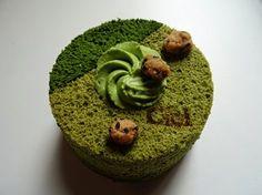 Angel cake au Matcha