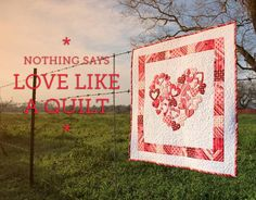 Valentine Quilt Patterns, Fall in Love!