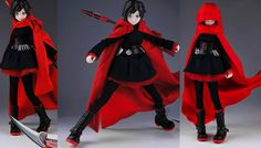 RWBY Figures: Ruby Rose Figure by ThreeZero | The Electric Press