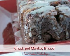 Overnight Crock-pot Monkey Bread with Any Loaf Bread Dough (Oven Baked Opt.)