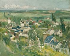 Paul Cézanne French, 1839-1906 Auvers, Panoramic View, 1873/75