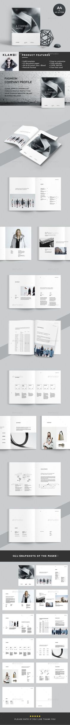 Profile - #Corporate #Brochures Download here: https://graphicriver.net/item/profile/19361453?ref=alena994
