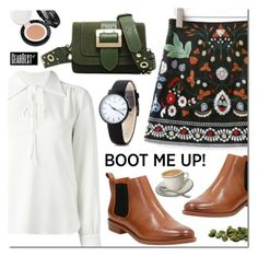 """""""Kick It: Chelsea Boots"""" by mada-malureanu ❤ liked on Polyvore featuring Clarks, See by Chloé, chelseaboots, gearbest and hergearbest"""