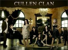 Cullen Clan. I love this.
