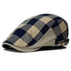 fbd1b69e8938b Summer and Autumn men s fashion Octagonal Cap Newsboy cap ladies Beret Hat  Flat Caps men vintage cotton Beret hats for women