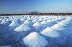 Mediterranean Sea Salt in Trapani, Sicily