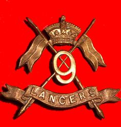 9th Queen's Royal Lancers - cap badge