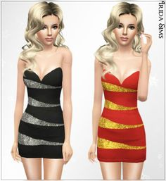 Irida-Sims: Karolina dress