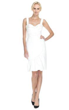 Shop Peter Som Cotton Silk Faille Dress at Moda Operandi