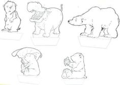 Die 19 Besten Bilder Von Lars Der Kleine Eisbär Christmas Crafts