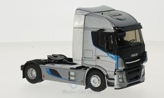 Iveco Stralis XP, metallic-grau Metallic, Trucks, Vehicles, Templates, Cars, Scale Model Cars, Truck, Vehicle